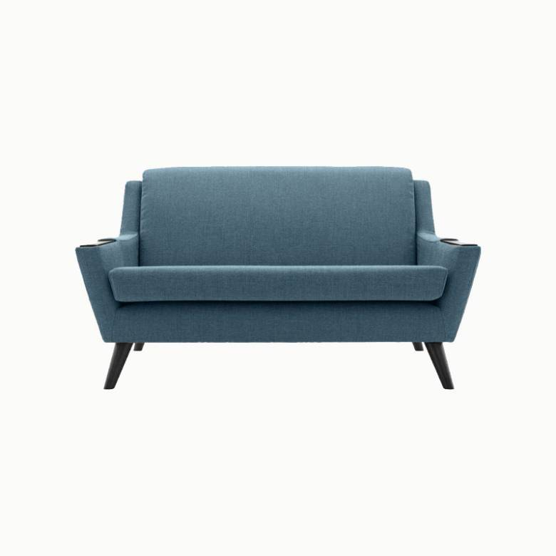 In Stock - G Plan Vintage Fifty Five Small Sofa - Festival Teal