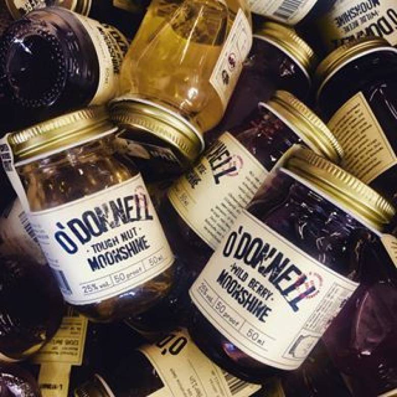 O'Donnell Moonshine - Minis Gift Pack 4 x 50cl