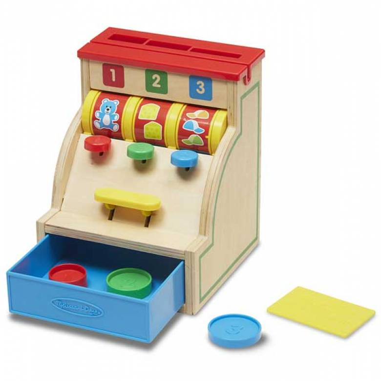 Sort & Swipe Toy Till Cash Register By Melissa & Doug