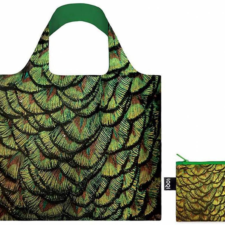 National Geographic Eco Bag INDIAN PEAFOWL