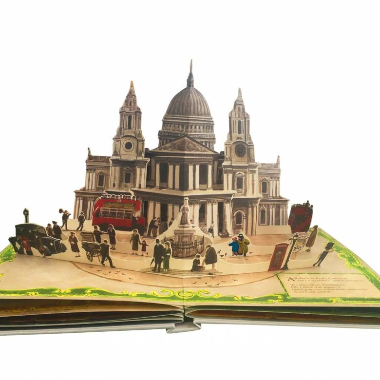 Paddington Pop Up Book London Collector's Edition