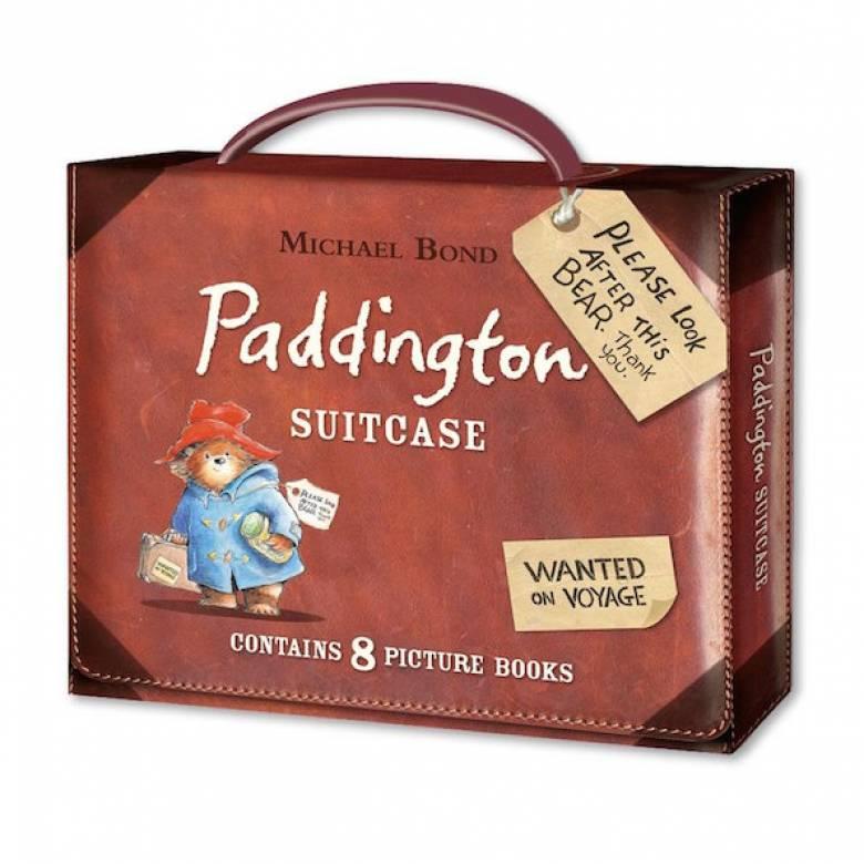 Paddington Suitcase Set Of 8 Books Gift Set