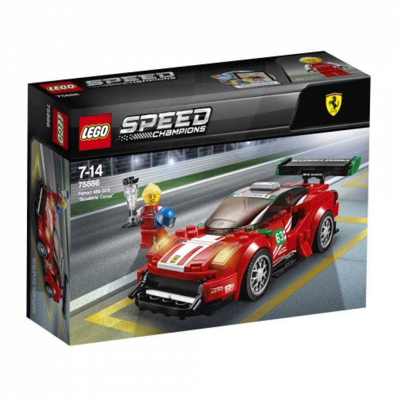 LEGO® Speed Champions Ferrari 488 GT3 Scuderia Corsa 75886