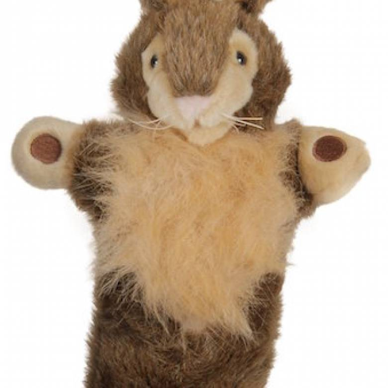 WILD RABBIT Long Sleeved Glove Puppet