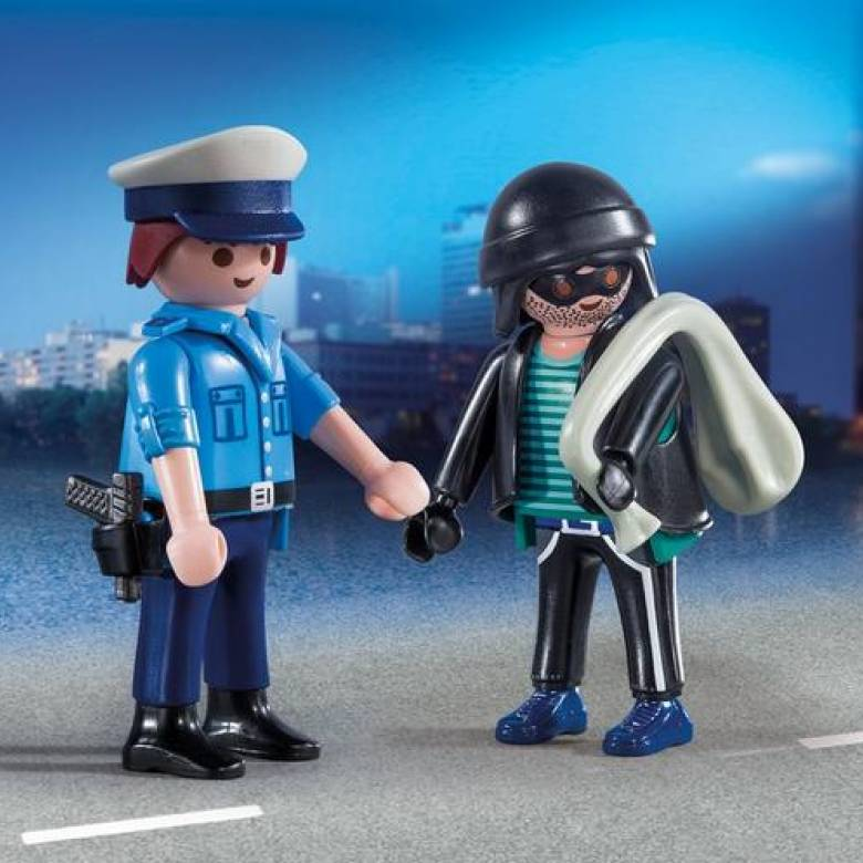 Policeman And Burglar Duo Pack Playmobil 9218