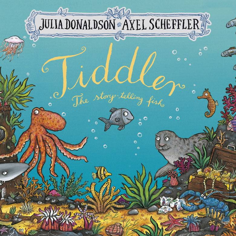 Tiddler Board Book By Julia Donaldson