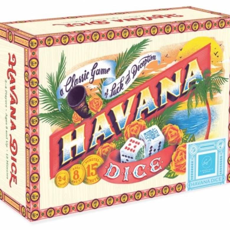Havana Dice Game In Cigar Box