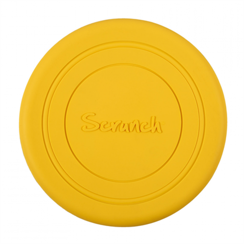 Scrunch Frisbee Yellow