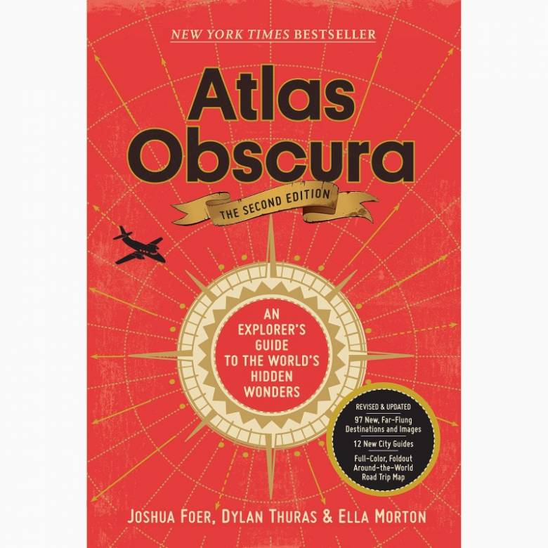 Atlas Obscura - Hardback Book (2nd edition)