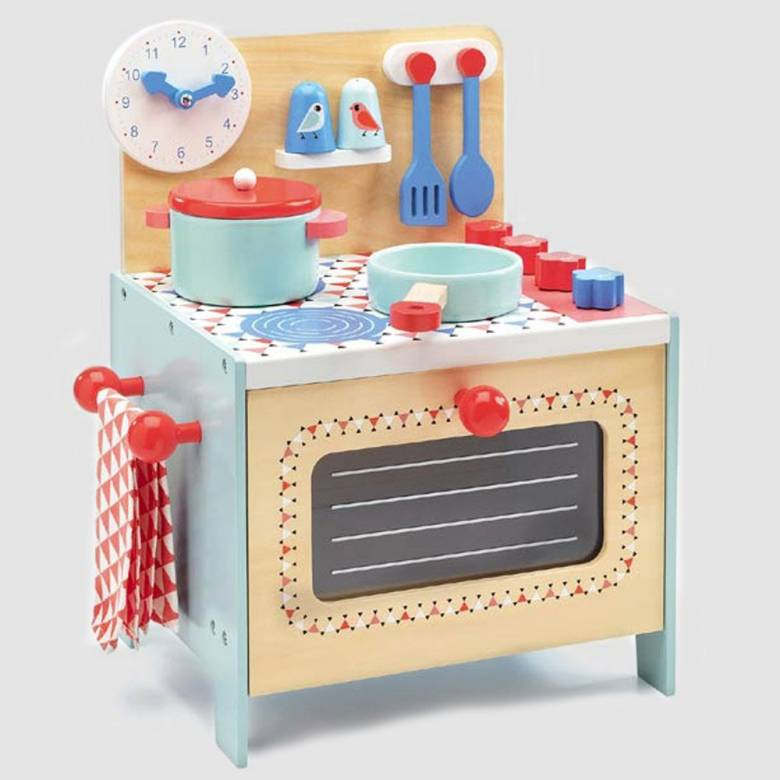 Play Cooker Toy Cooker By Djeco 3+