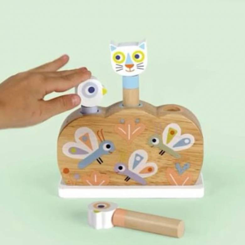 BabyPopi Wooden Toy By Djeco 1+