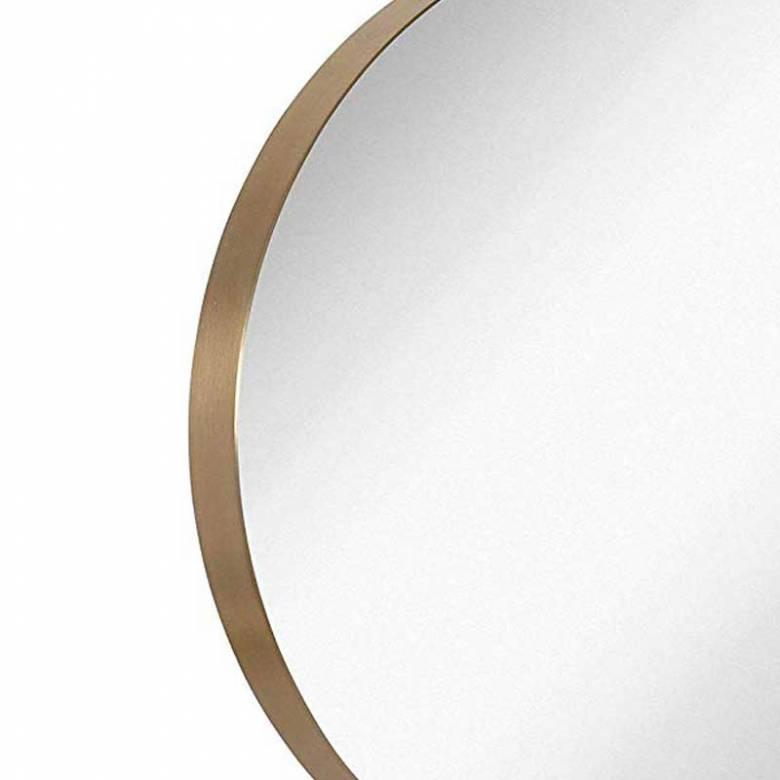 Bait Round Gold Mirror 50cm