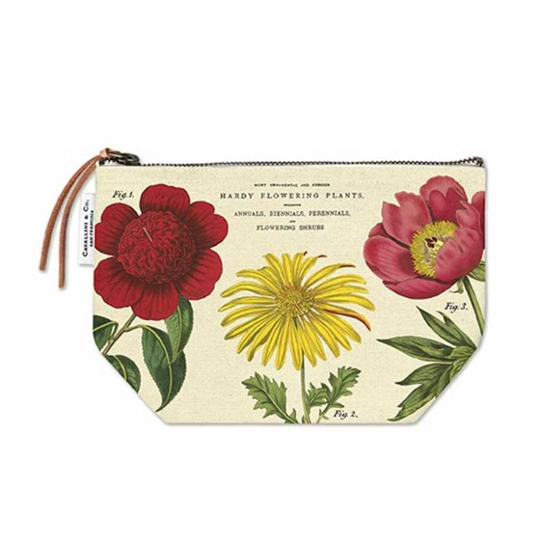 Botanica Cotton Pouch Bag By Cavallini