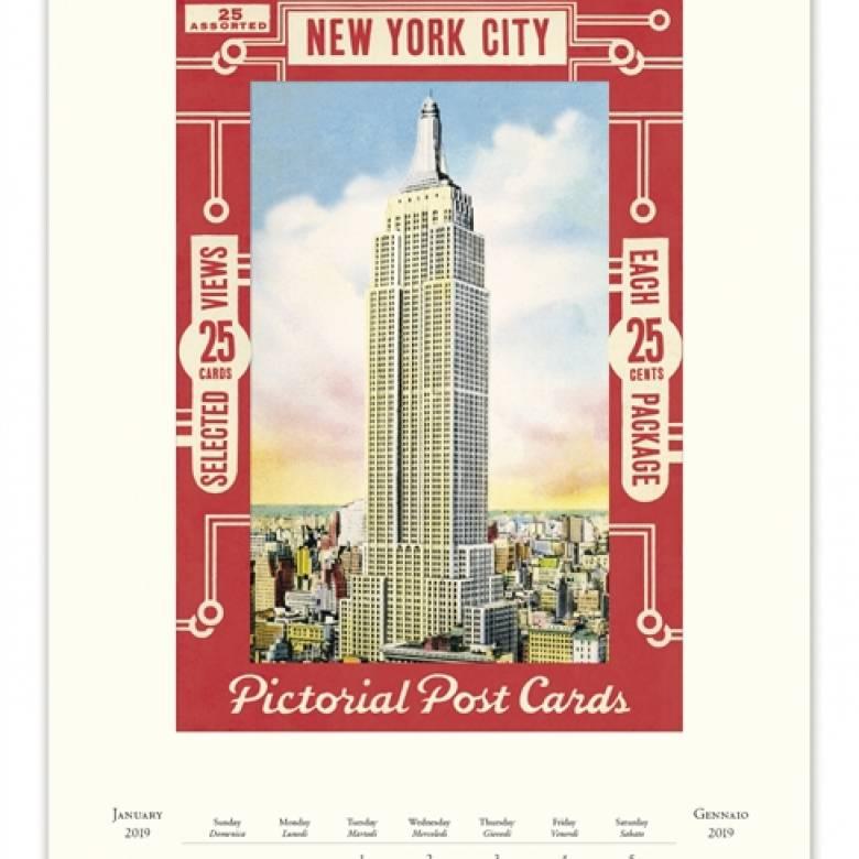 New York Wall Calendar by Cavallini