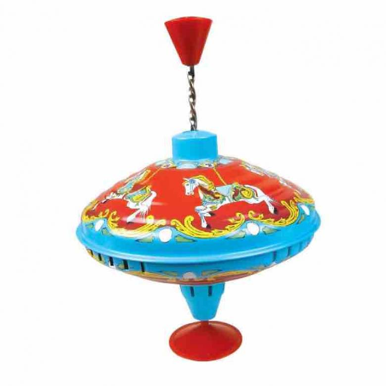 Carousel Metal Humming Top 1+