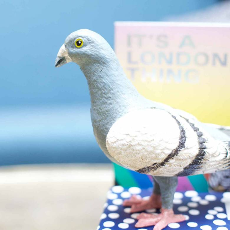 Cast Iron Standing Pigeon
