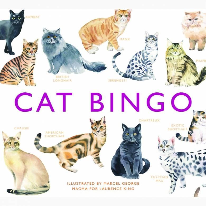 Cat Bingo Game 6+