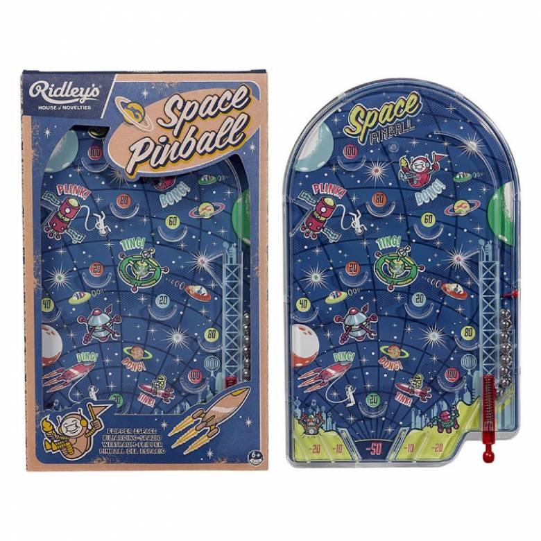 Classic Space Pinball Game