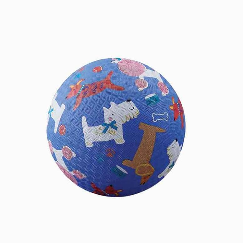 Dogs - Small Rubber Picture Ball 13cm