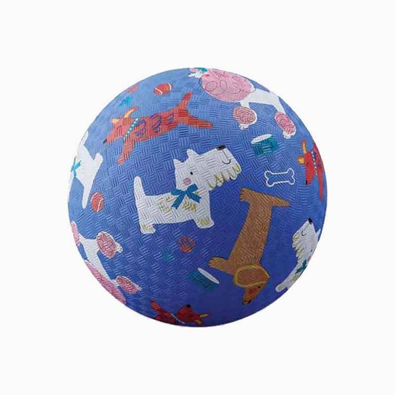 Dogs - Large Rubber Picture Ball 18cm