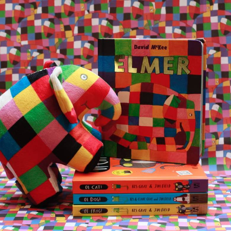 Elmer By David McKee: Board Book