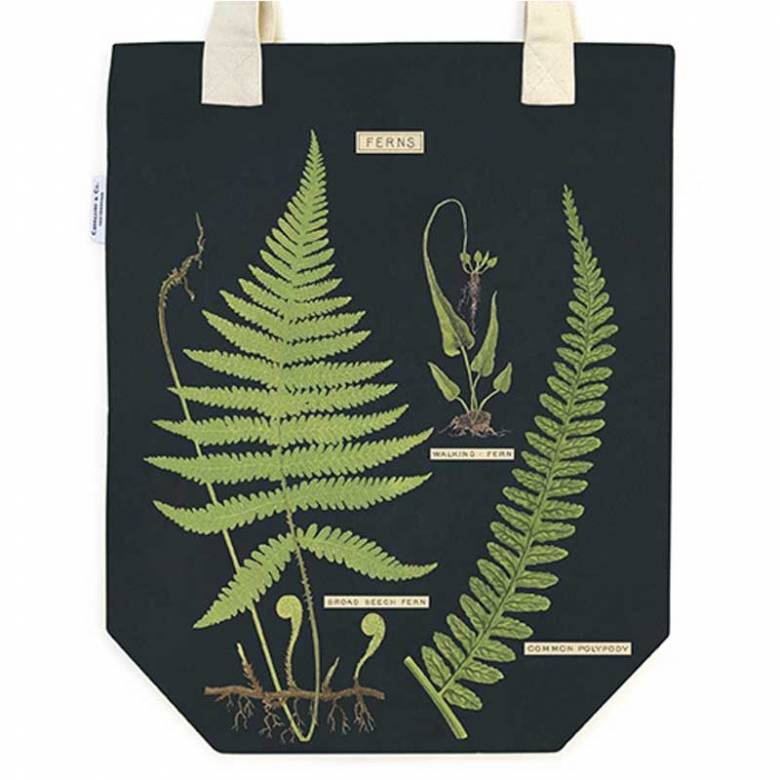 Ferns Cotton Tote Bag