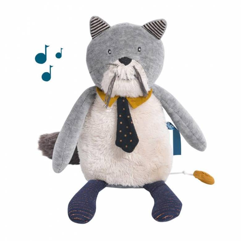 Fernand The Cat Musical Soft Toy Les Moustaches 0+
