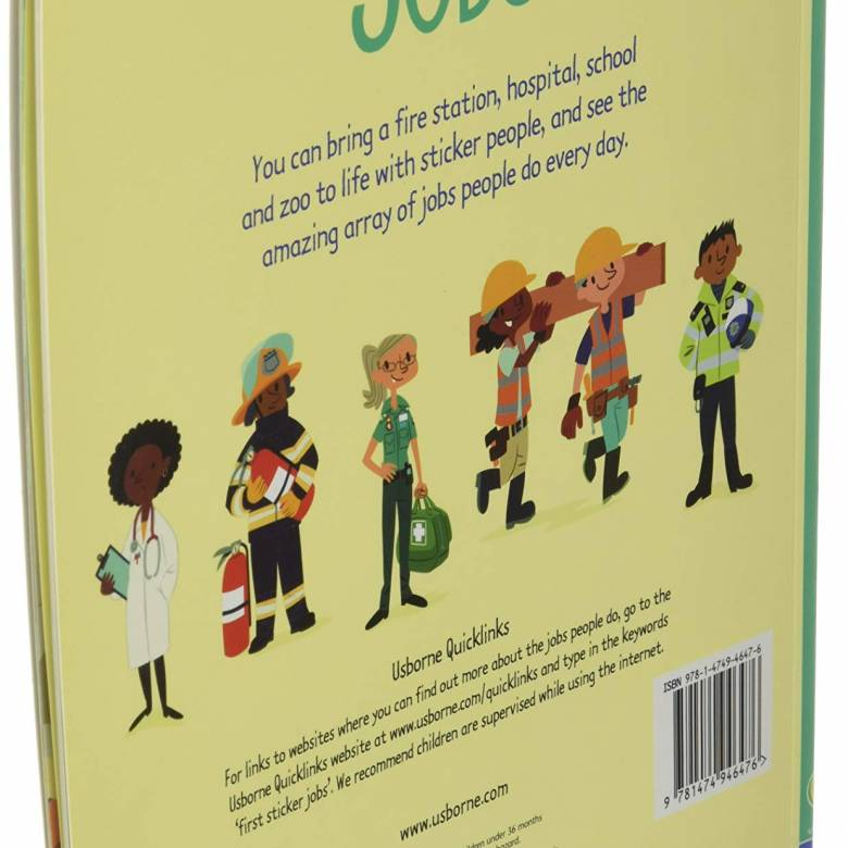 First Sticker Book: Jobs