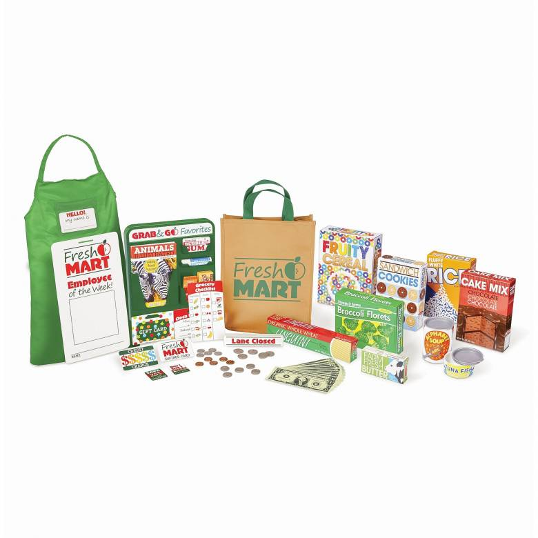 Fresh Mart Grocery Companion Set By Melissa & Doug 3+