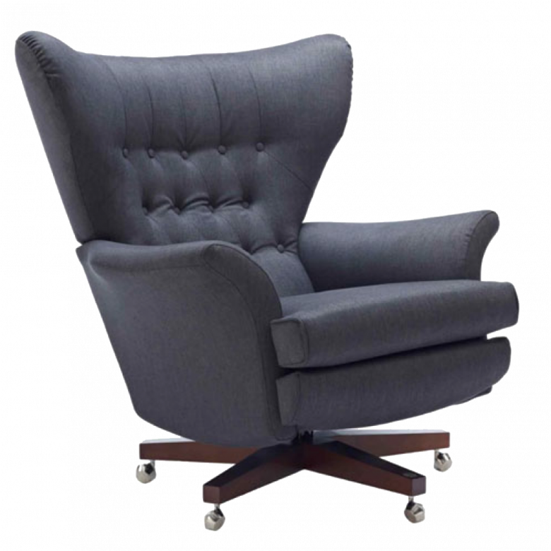 G Plan Vintage The Sixty Two Fabric Swivel Armchair