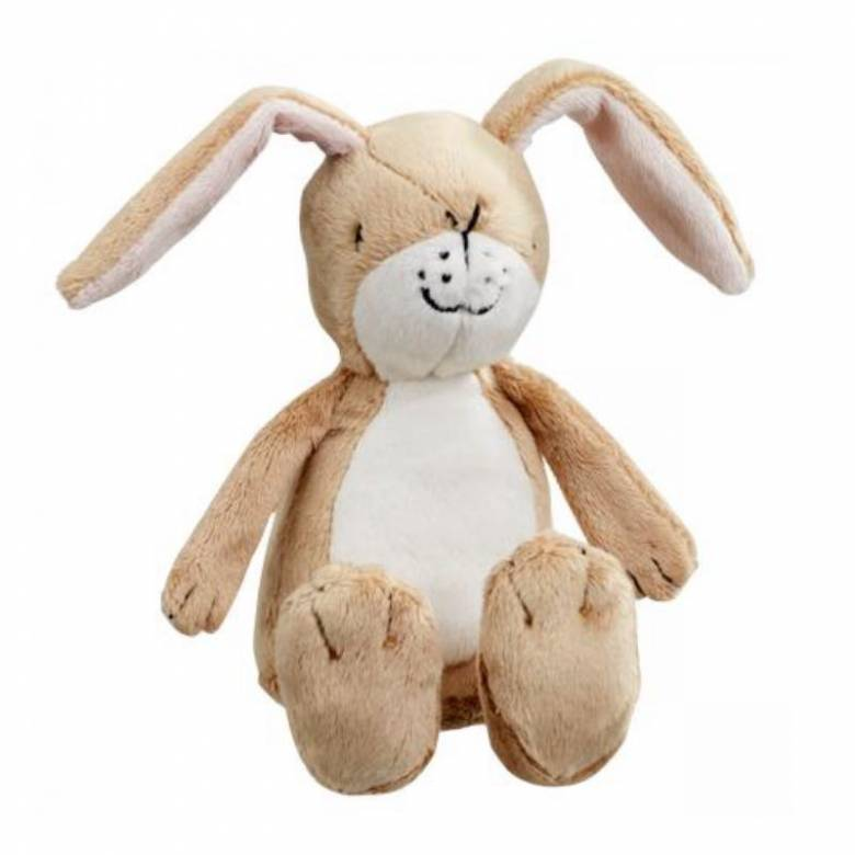 Guess How Much I Love You Little Hare Rattle Soft Toy 0+