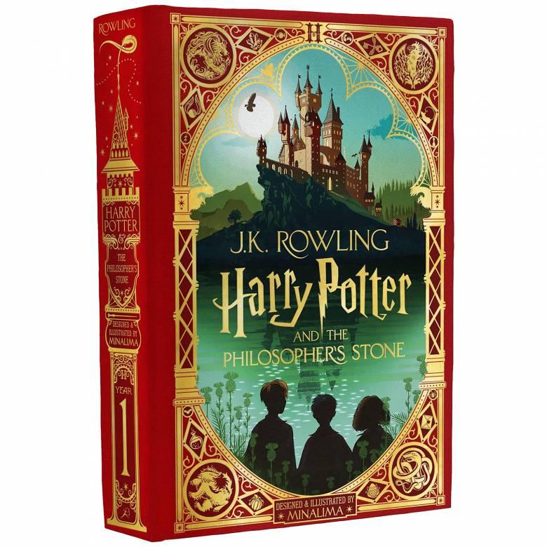 Harry Potter & The Philosophers Stone J K Rowling & MinaLima