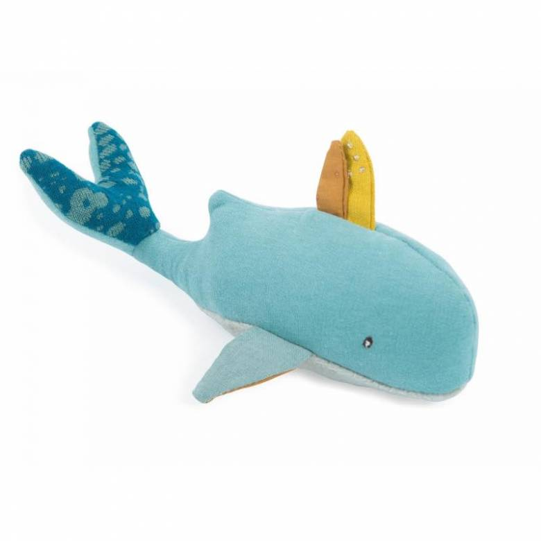Josephine The Whale Rattle Soft Toy 0+