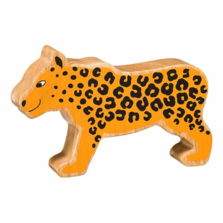 Leopard Wooden PAINTED Animal Fairtrade Lanka Kade
