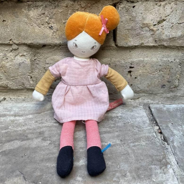 Mademoiselle Agathe Les Parisiennes Soft Toy Doll 1+