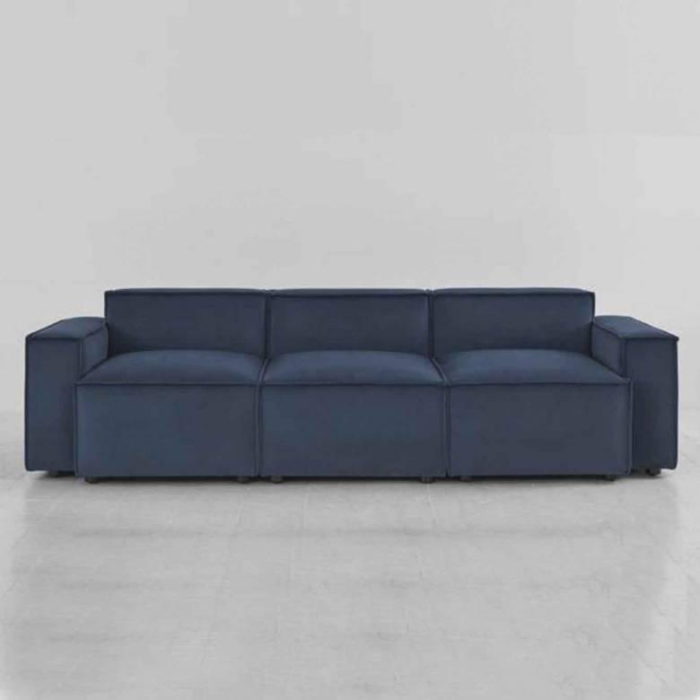 Swyft - Model 03 - 3 Seater Sofa - Velvet Teal