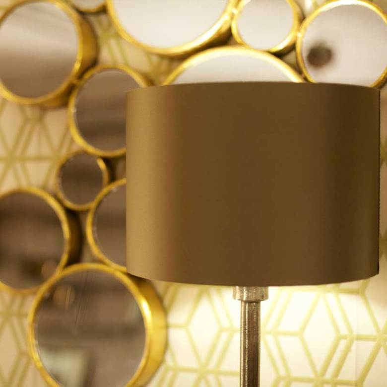 Novi Table Lamp With Green Shade