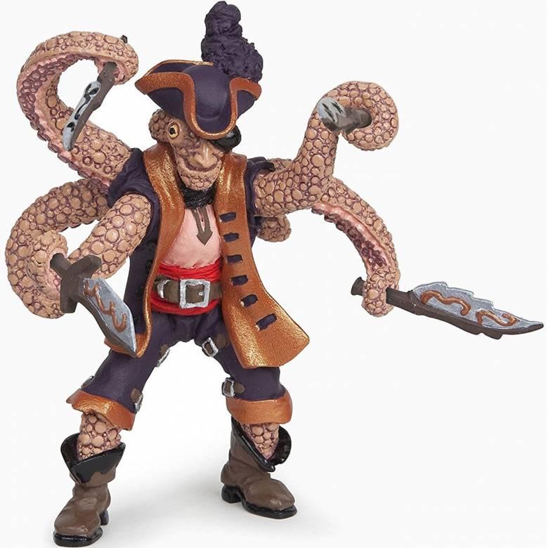 Octopus Kraken Mutant Pirate PAPO Figure