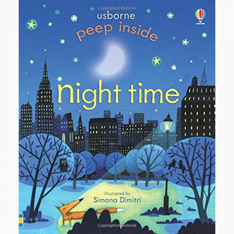 Peep Inside Night Time (Lift The Flap Book)