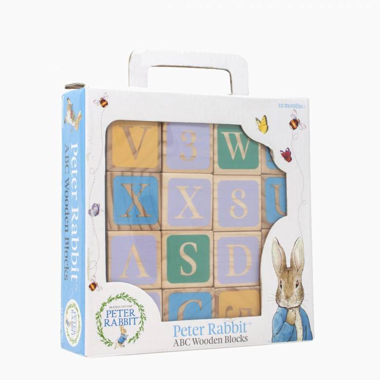 Peter Rabbit Wooden Picture Blocks 1+