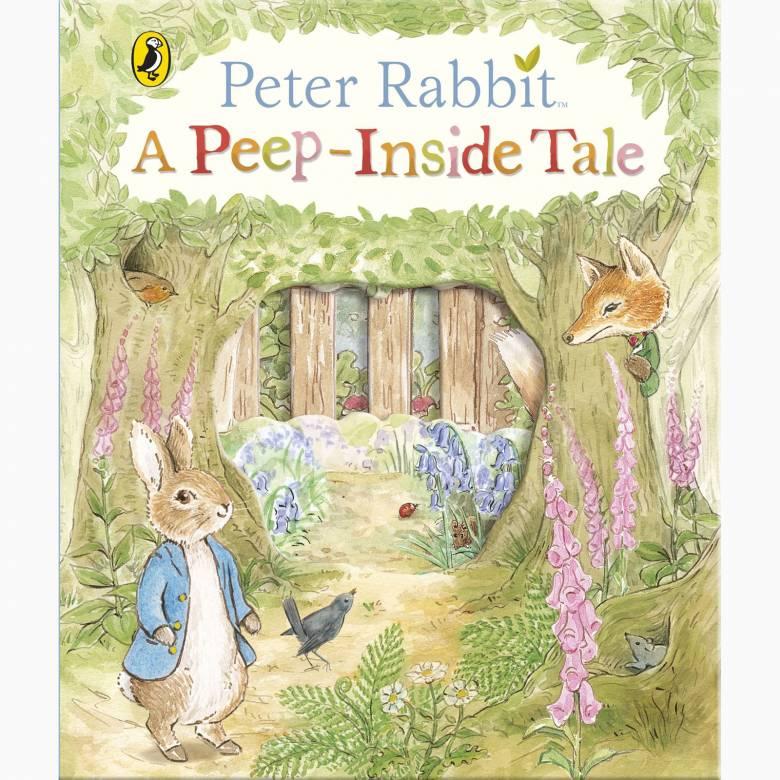 Peter Rabbit: A Peep-Inside Tale - Hardback Book