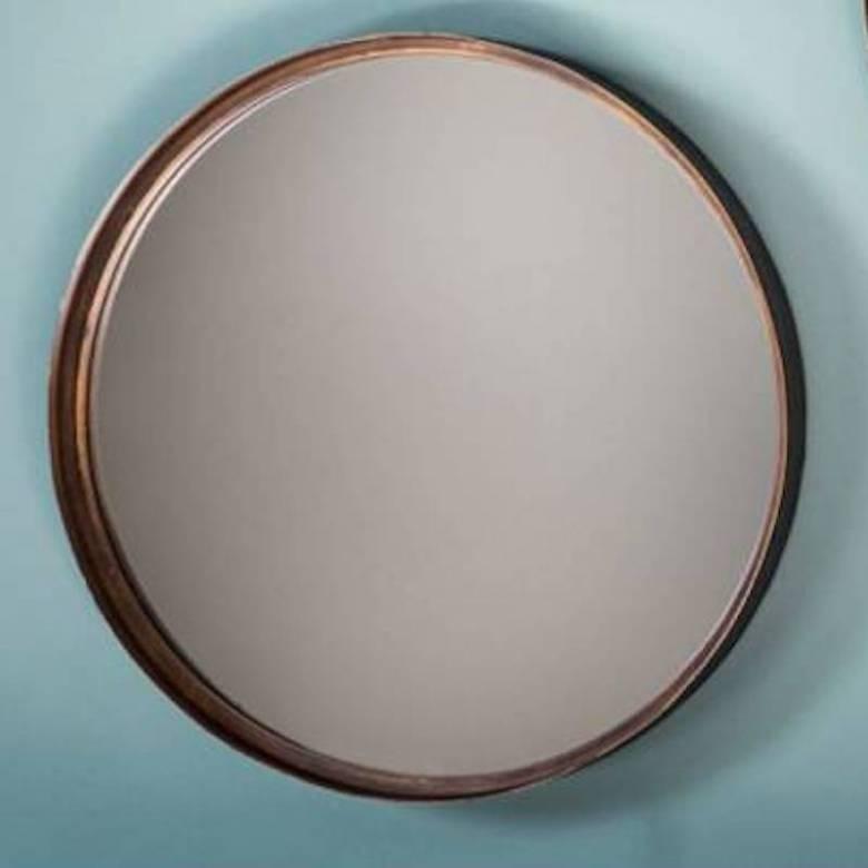 Round Bronze Mirror 30.5cm x 30.5cm