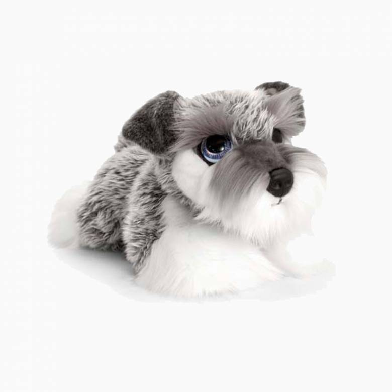 Schnauzer Puppy Dog Soft Toy 32cm
