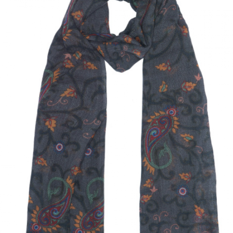 Parisian Matty Wool Scarf By Jo Edwards
