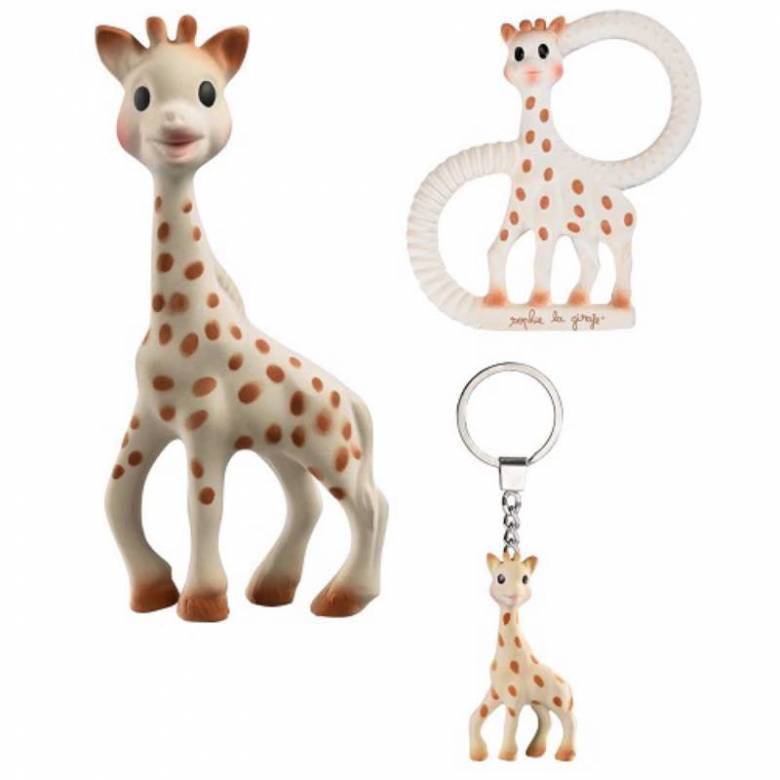 Sophie La Girafe/ The Giraffe Trio Boxed Gift Set