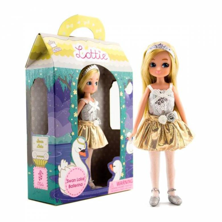 Swan Lake Ballerina Lottie Doll 3+