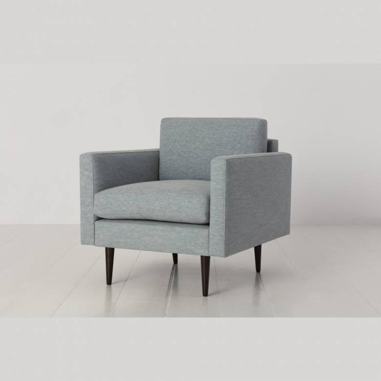 Swyft - Model 01 - Armchair - Linen Seaglass