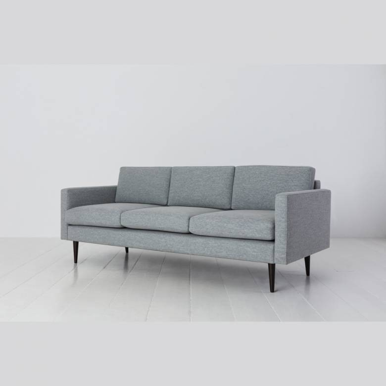 Swyft - Model 01 - 3 Seater Sofa - Linen Seaglass