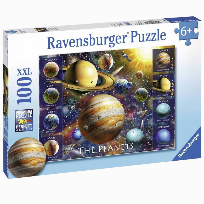 The Planets 100 Piece Jigsaw Puzzle 6+
