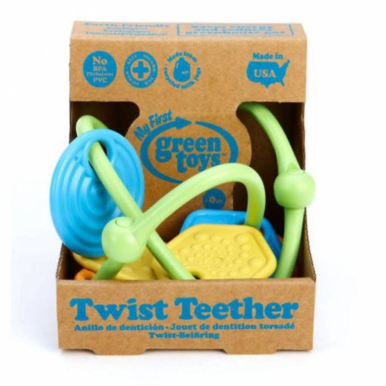 Twist Teether Teething Toy By Green Toys 0+